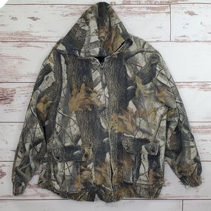 Camo Hunting Jacket Outfitters Ridge Realtree L